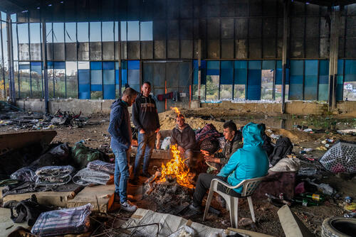Thousands of migrants trapped ahead of Bosnian winter.