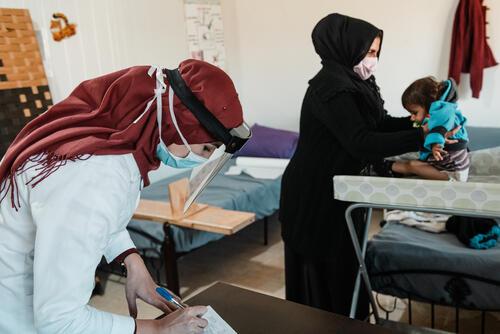 MSF's clinic in Hermel