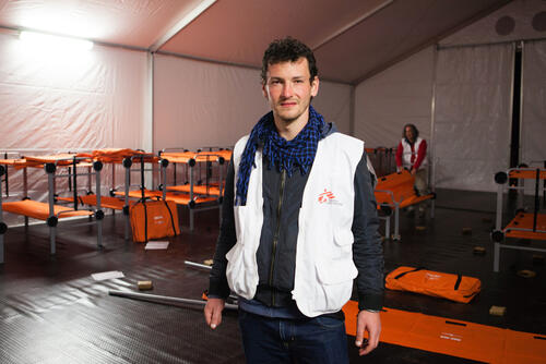 Cristian Reynders, MSF Field Coordinator for Northwest Syria