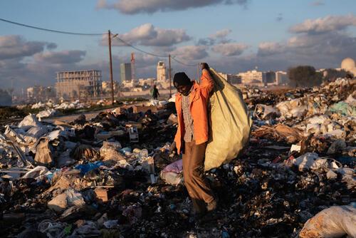 Libya, January 2020.
