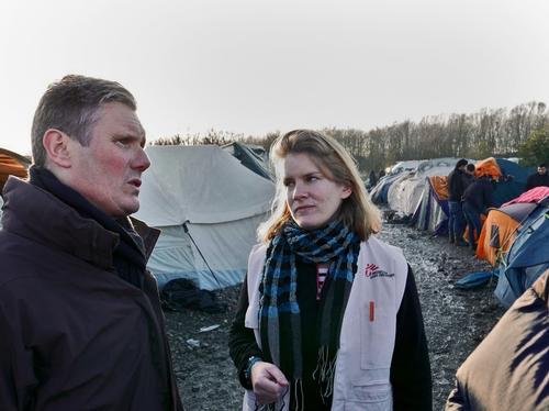 Grande Synthe Refugee Camp