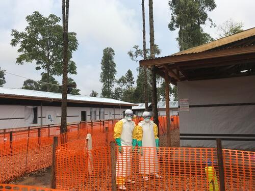 Katwa Ebola treatment center
