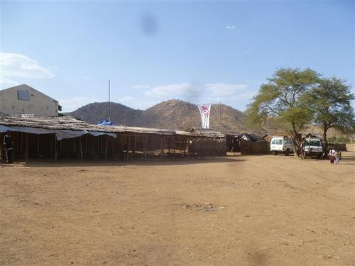 MSF Hospital in Farandallah - Frandala - South Kordofan