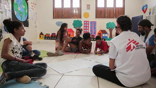 Mental Health Support for Children in Roraima, Brazil