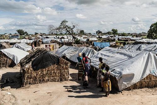Cabo Delgado: 25 De Junho IDP camp