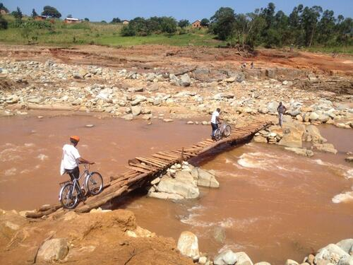 Reaching cut off health centres in Chimanimani