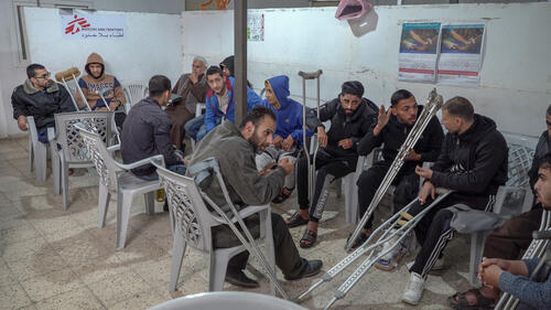 Gaza: MSF providing care for the victims of the Great March of Return