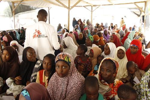 MSF intervention in Borno state, Nigeria