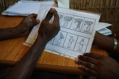 Hitsat Camp for Eritrean Refugees, Tigray