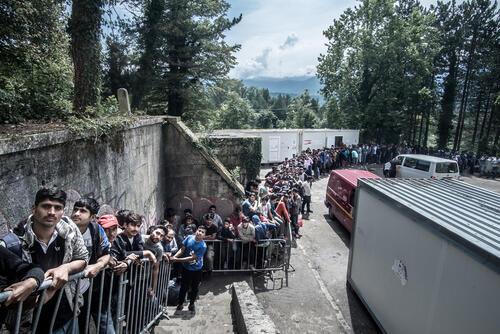 New Balkan migration route through Bosnia