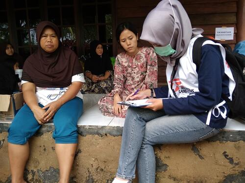MSF team visits tsunami affected areas