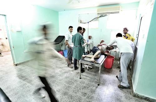 MSF Al-Nasr supported hospital - Al-Dhale,Yemen