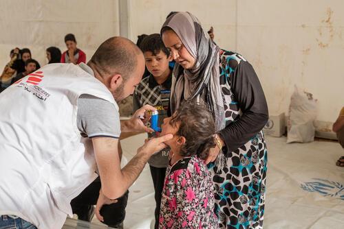 "Mosul : chamakor and ""U2"" Hassansham IDP camps"