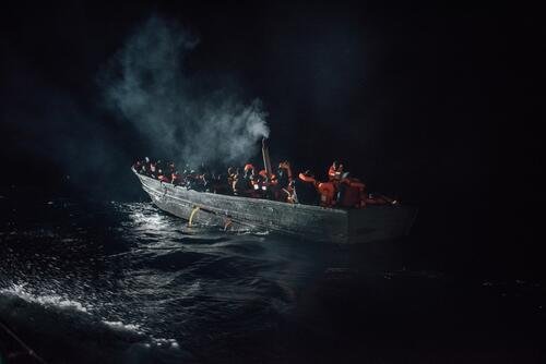 Aquarius SAR: Winter conditions and high seas