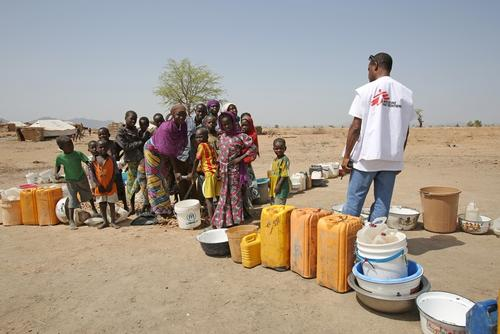Cameroun - MSF activities for people displaced by Boko Haram attacks