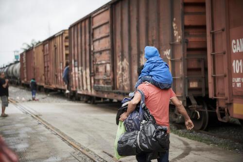 MSF na rota de migração para o México