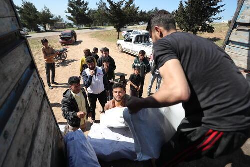 SYRIA IDLIB DISTRIBUTION