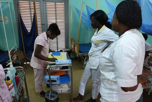 Regional Hospital of Katiola MSF supports gynecological