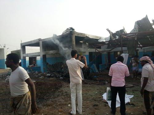 Airstrike hits Abs hospital in Hajjah