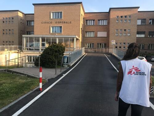 Codogno Hospital, Lodi Province