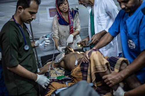 MSF Mocha surgical hospital