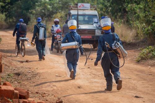 Indoor residual spraying in Burundi - 2020