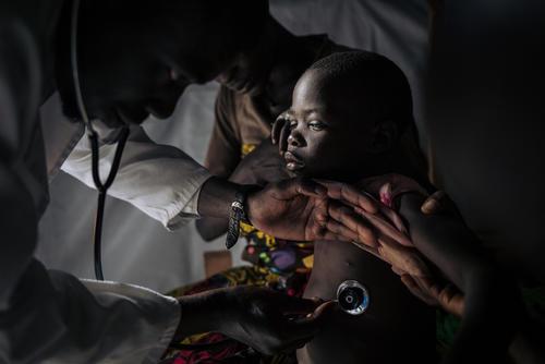 Measles Unit in Biringi Hospital, Ituri Province