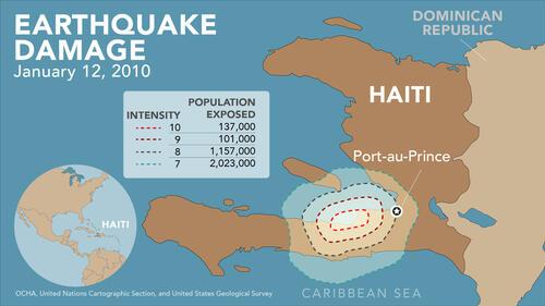Haiti 2010 Earthquake Damage Map