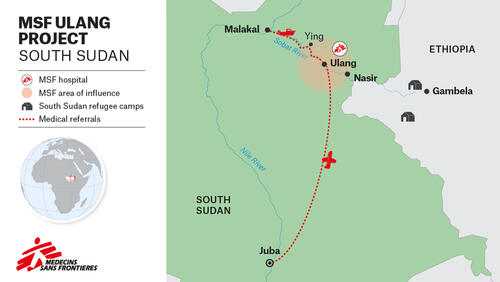 MAP – EN – Violence and neglect in the remote northeast of South Sudan