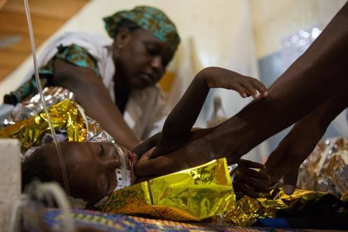 أنشطة أطباء بلا حدود في النيجر