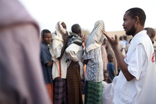 Bannon Dadaab press photos