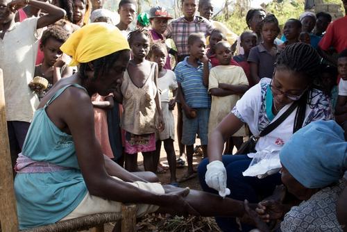 MSF Hurricane Matthew Response in Haiti