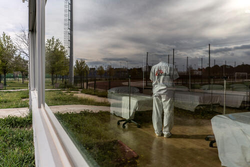 MSF Intervention in Alcalá de Henares