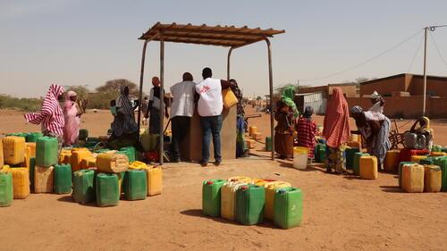أنشطة أطباء بلا حدود في بوركينا فاسو