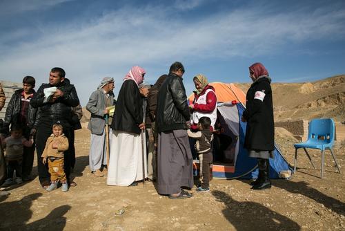 Irak - MSF mobile clinics in Kirkuk and Salahedin governorates