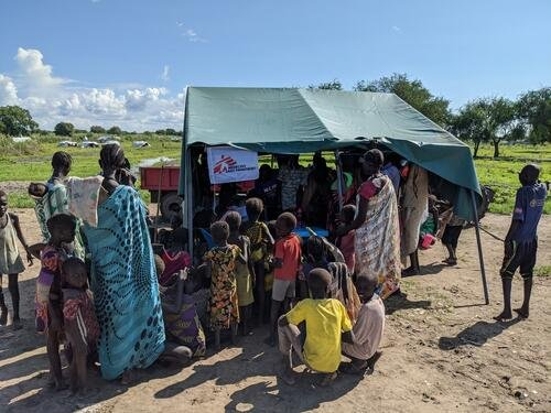 In Pibor, since August 11, MSF has done over 1,500 out-patient consultations and provided 292 pregnant women with antenatal care.
