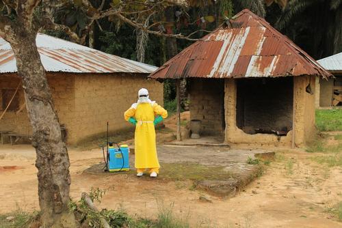 Liberia - Foya Ebola management centre