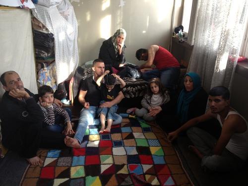 Syrian refugee explo Bulgaria, November 2013