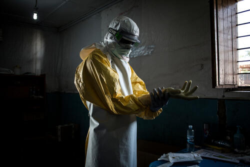 Ebola outbreak - Bunia