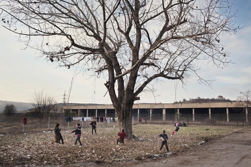 Syrian refugees in Harmanli, Bulgaria