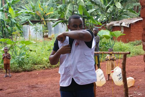 Covid-19 Preparation in Nduta Camp