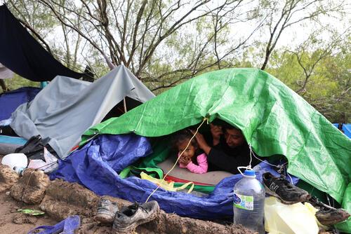 Matamoros - Asylum-seekers and migrants at the US/Mexico border