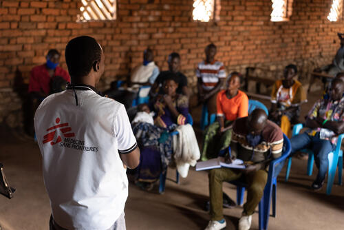 Community approach in Angumu, DR Congo