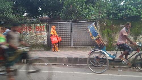 Woman, Kamrangirchar, Bangladesh