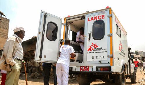 OCP Emergency response unit in Nairobi