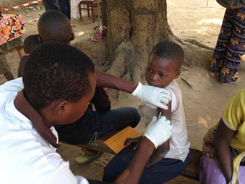 Measles in Katanga