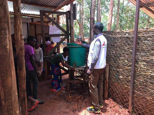 preparing fro COVID-19 in Nduta refugee camp