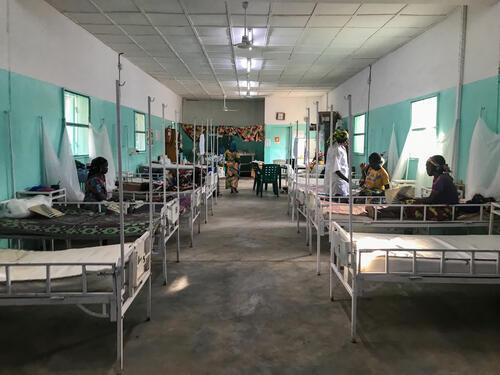 Magaria District Hospital, Zinder region, Niger. May 2019.
