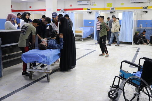 Sadr City: MSF's work in one of Baghdad's busiest hospitals