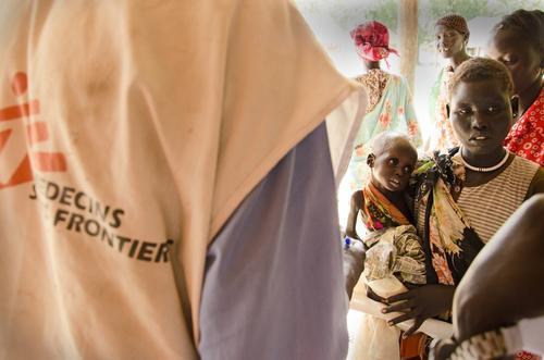 Saving Gatluok, malnutrition in Leer, South Sudan